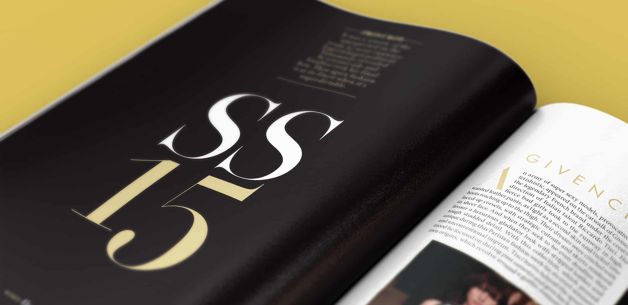 LOfficiel Australia - Print Design