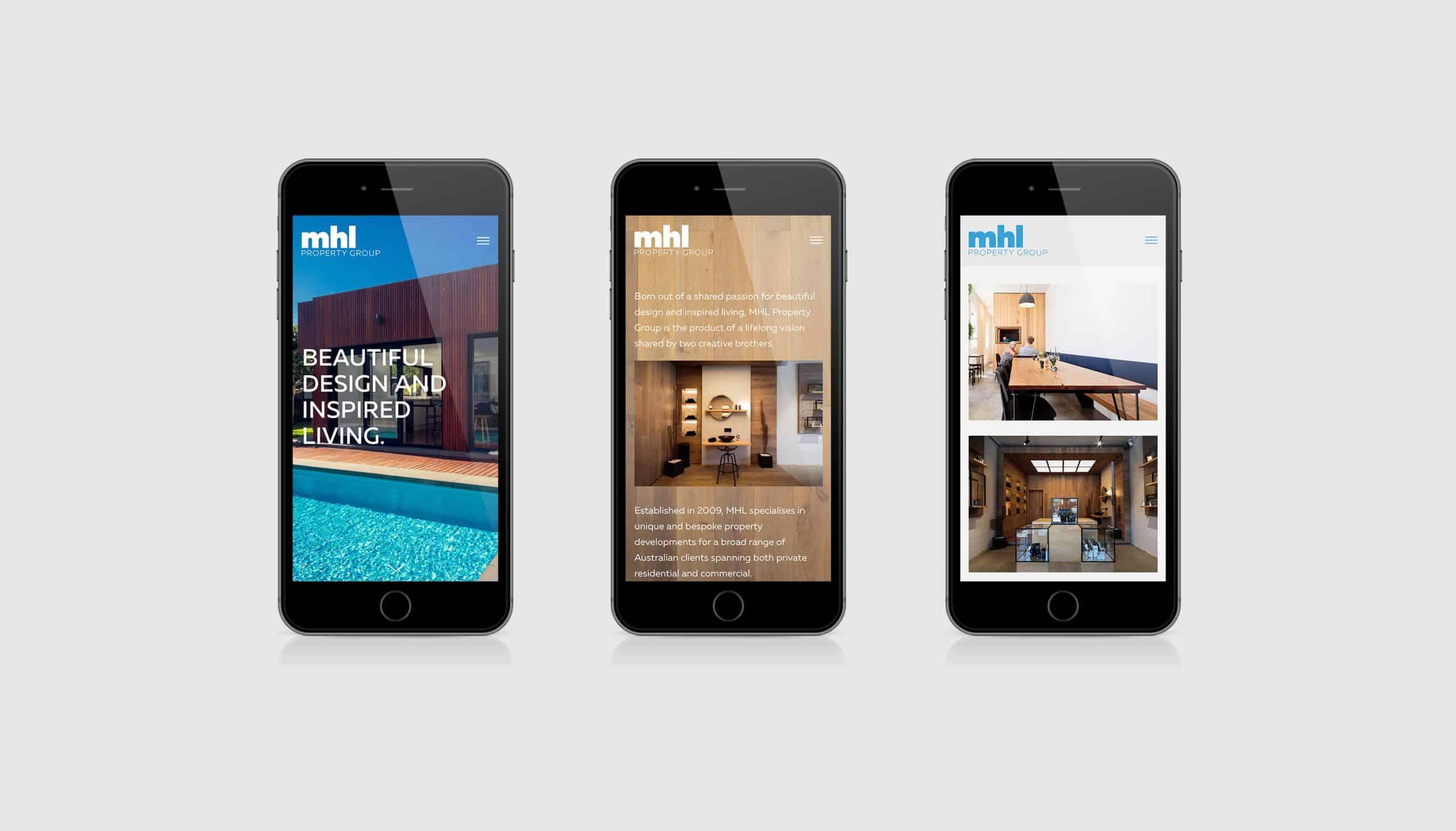 MHL Property Group - Website Design