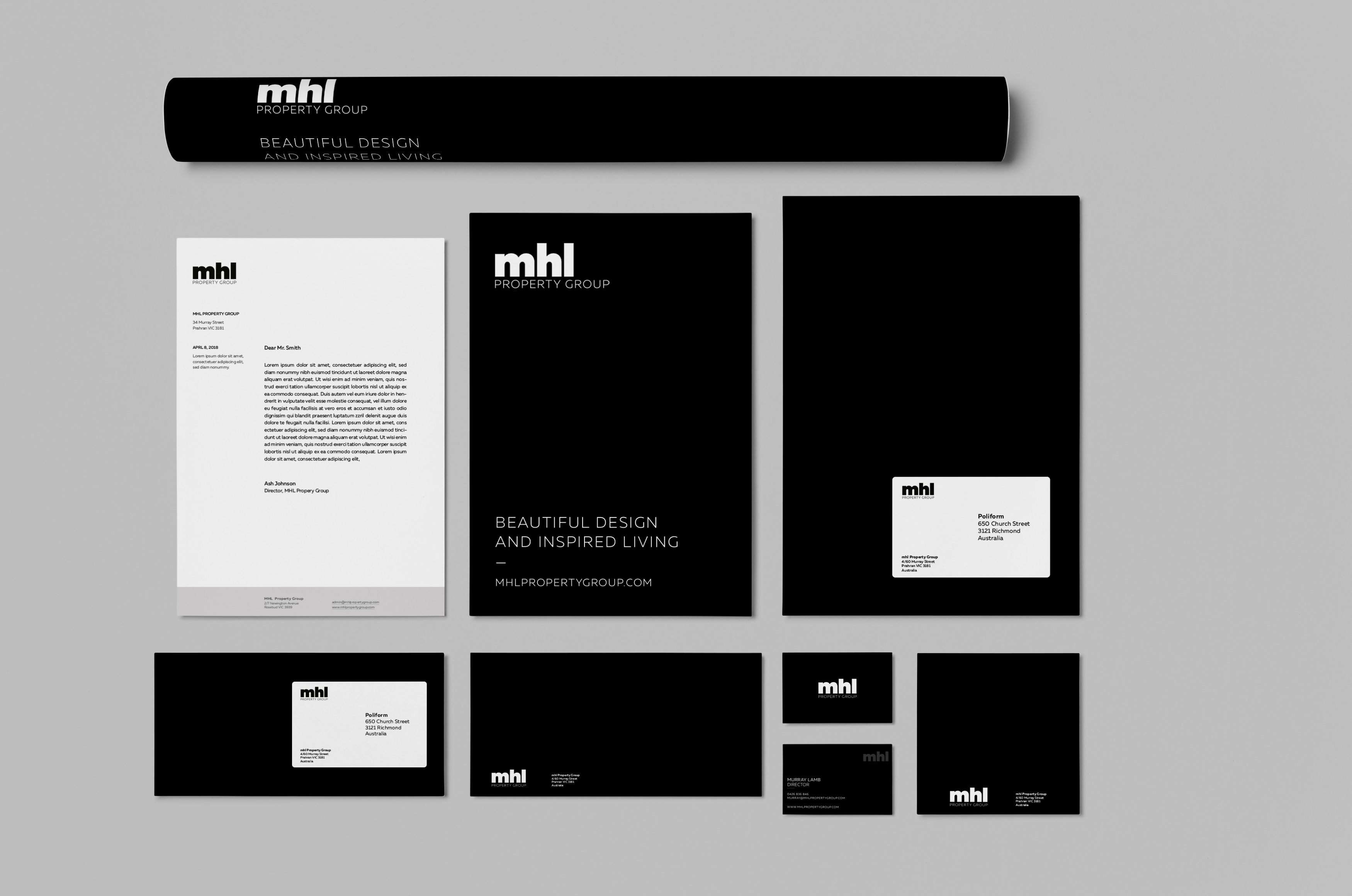 MHL Property Group - Branding and Website Design