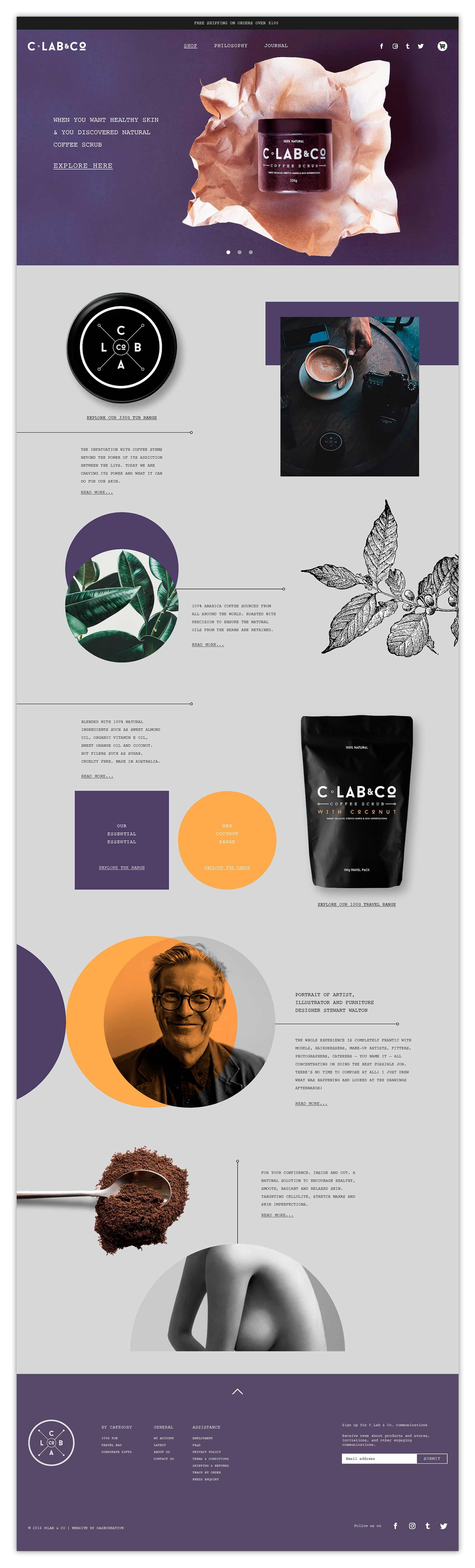 C Lab & Co - Website Design