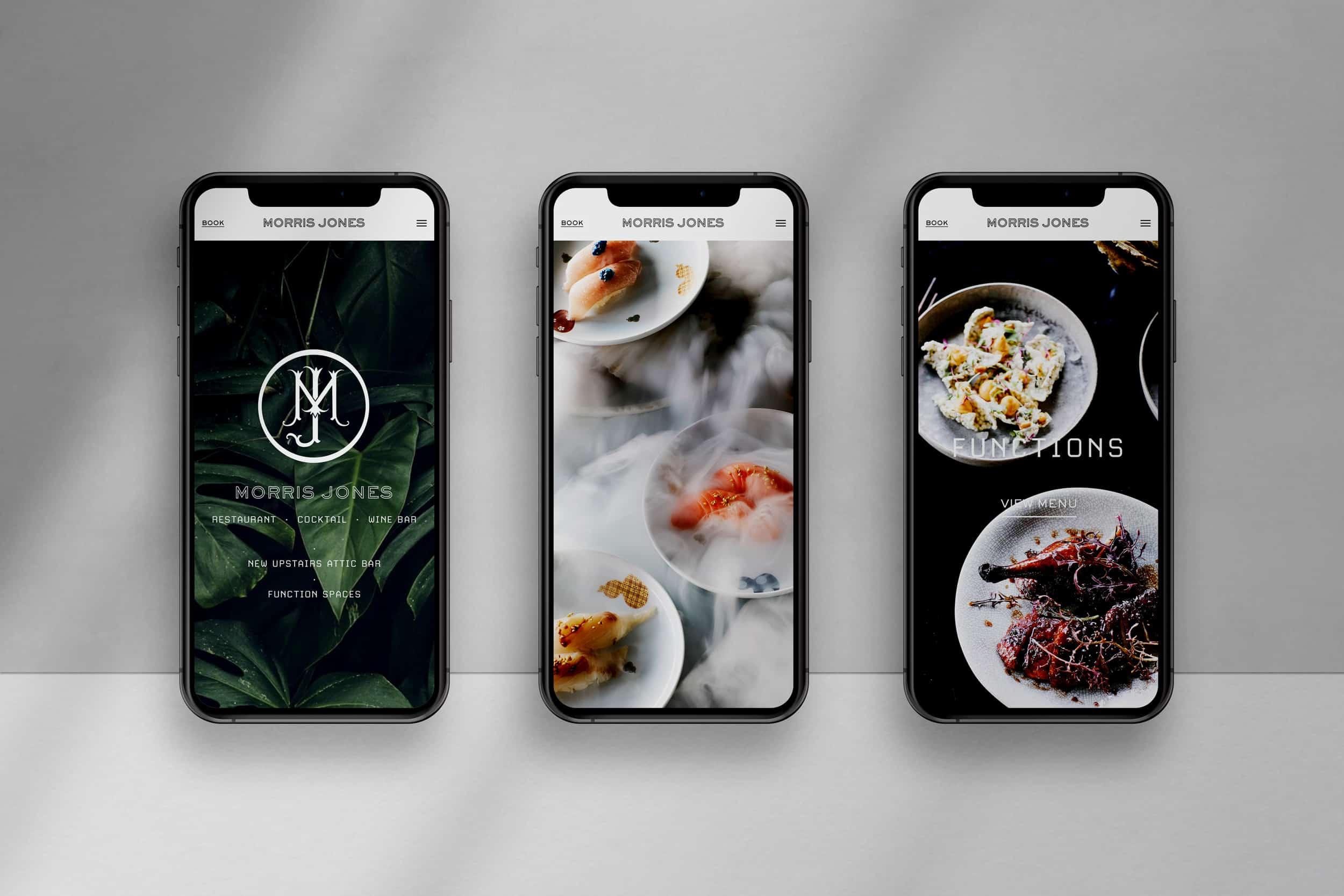 Morris Jones - Website Design