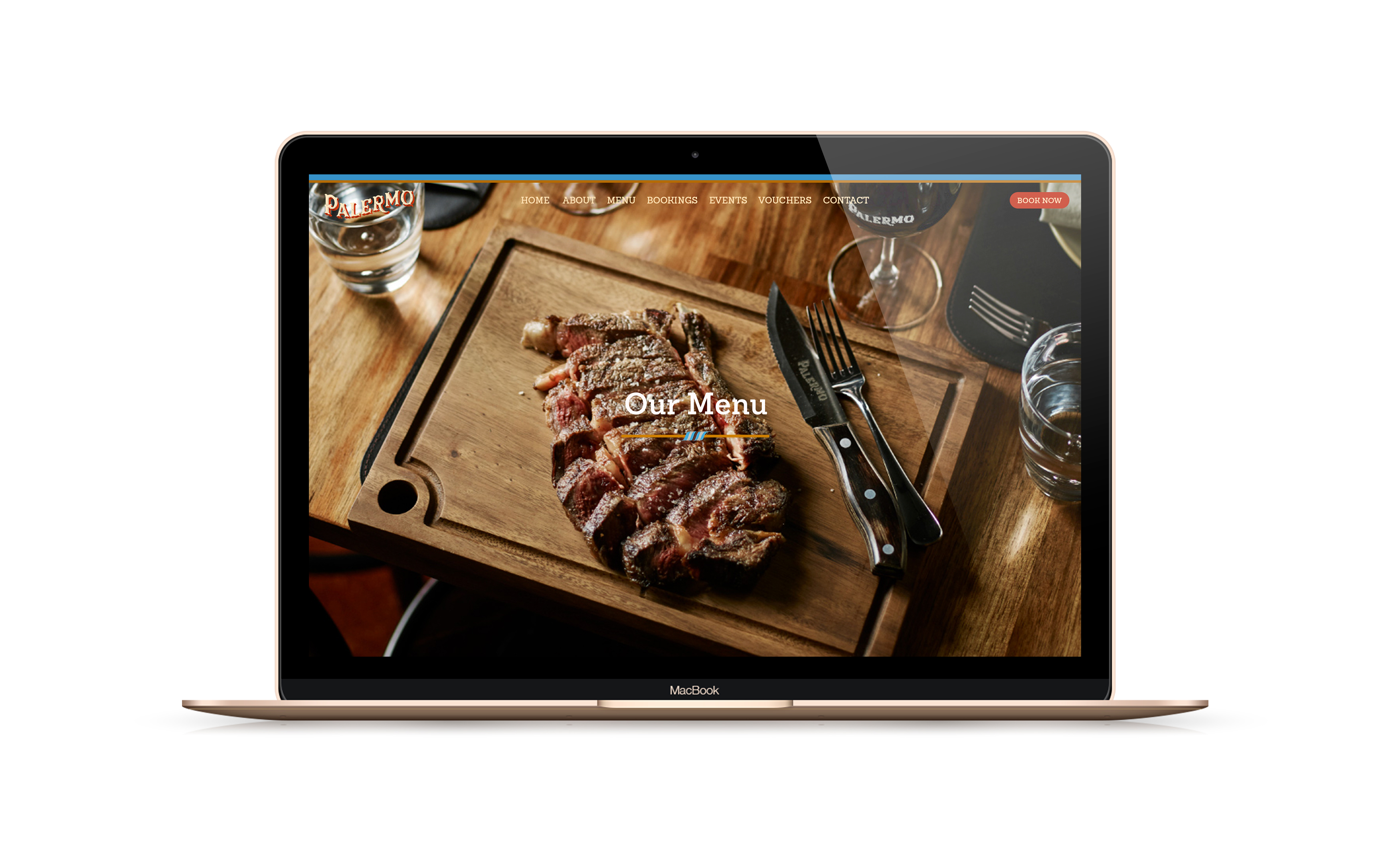 Palermo Restaurant Melbourne - website design