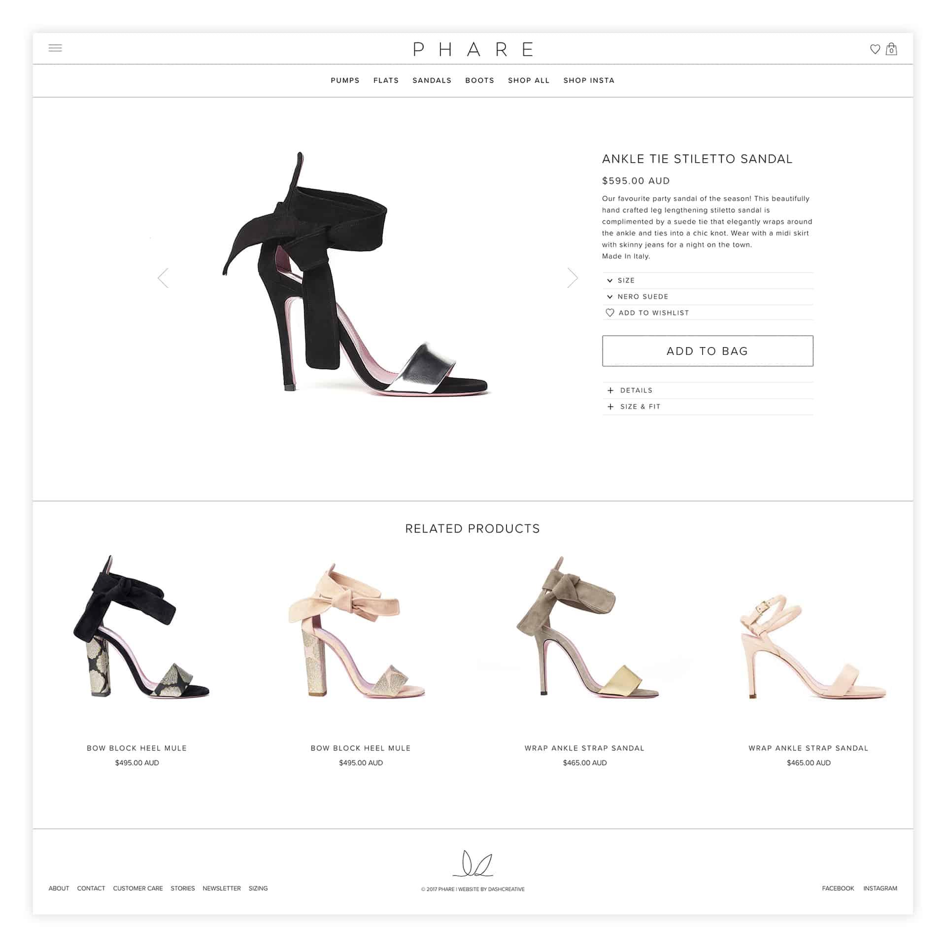 Phare Identity and Website Design