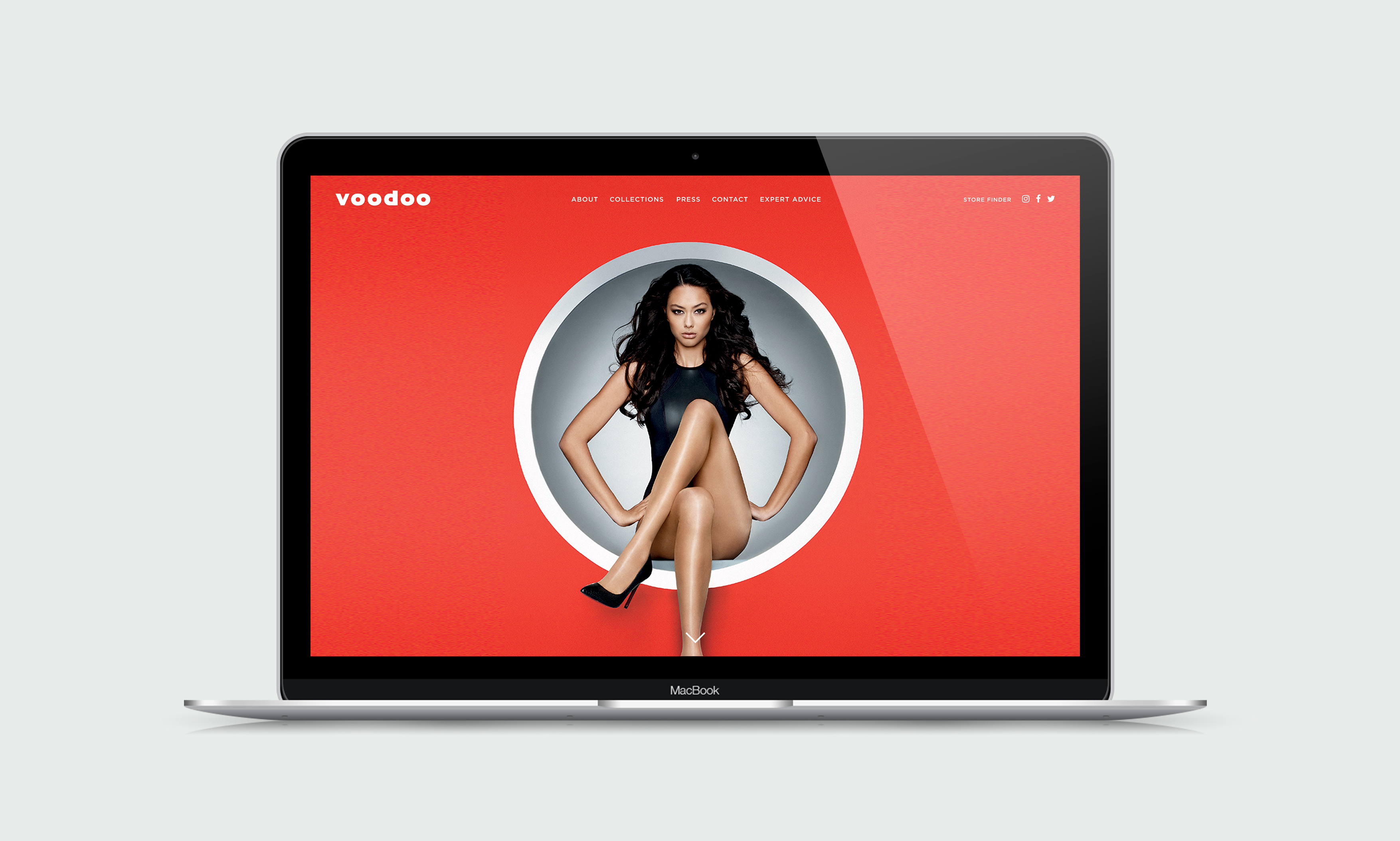 Voodoo Hosiery - Website Design