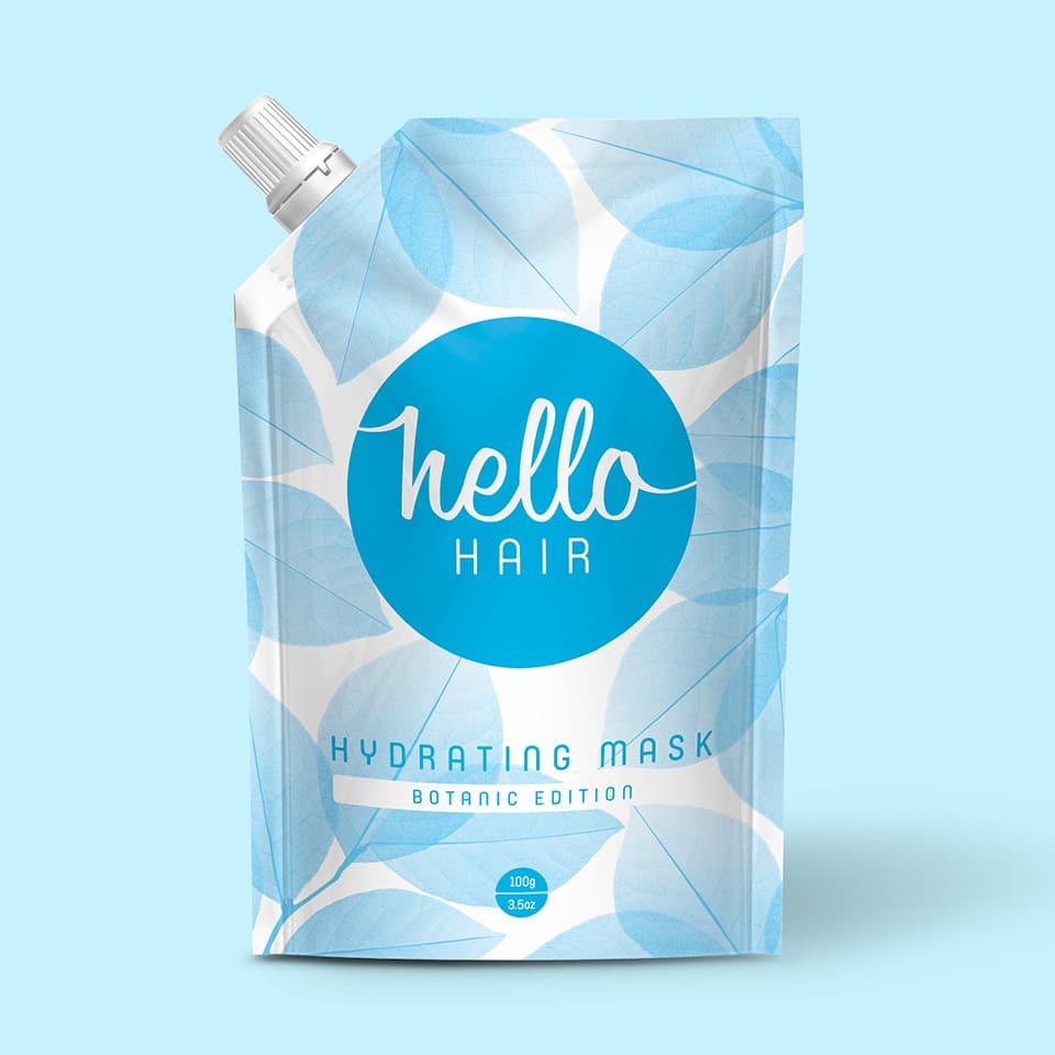 Hello Hair - Branding and Packaging Design