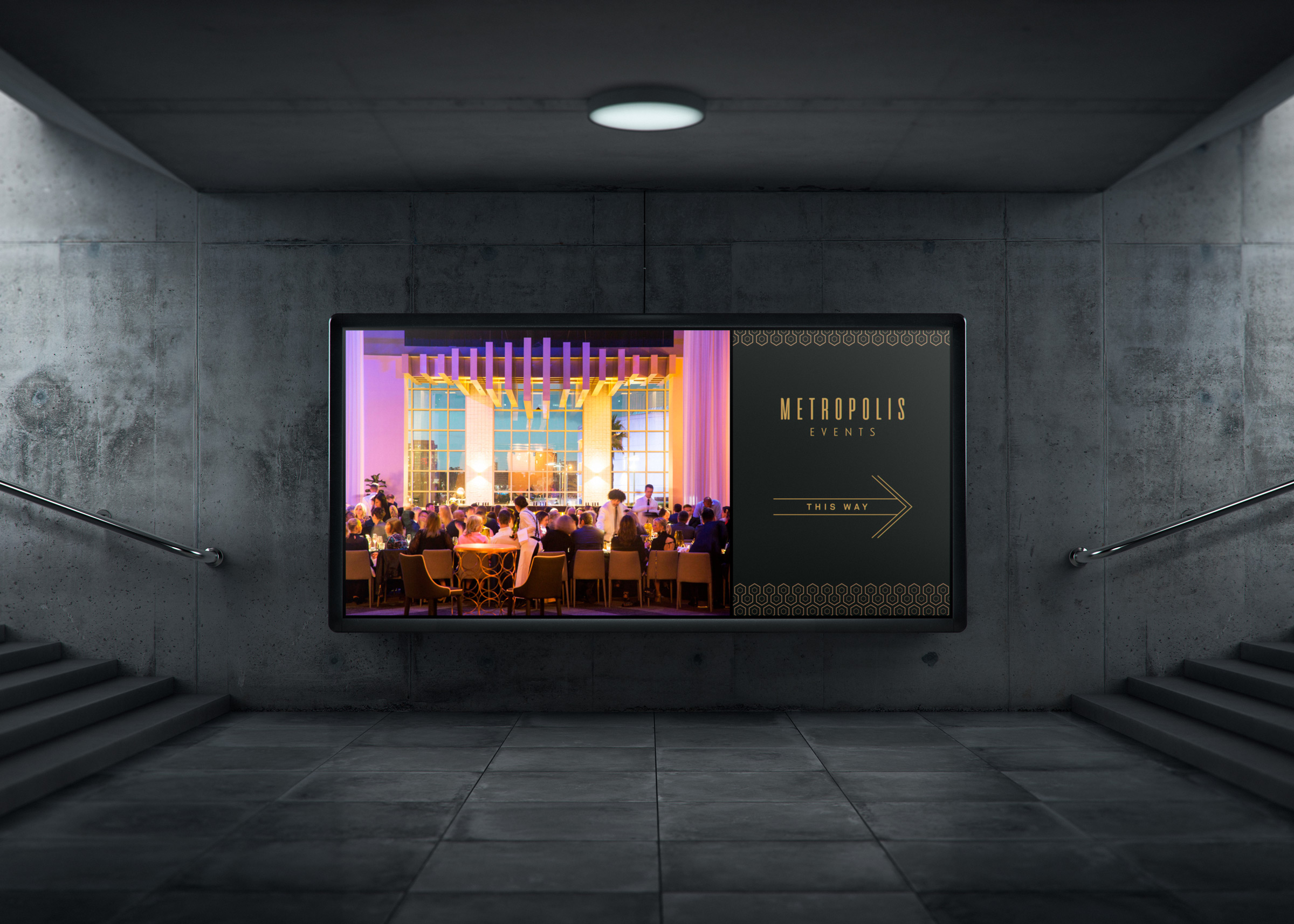 Metropolis Events - Branding and Website Design